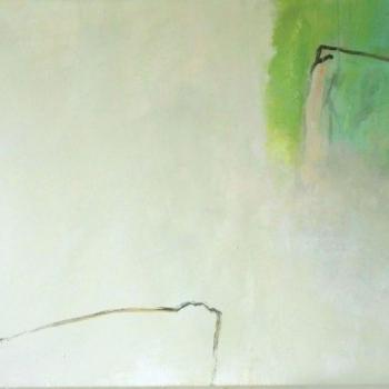 Freier Raum mit Grün 100x50 cm