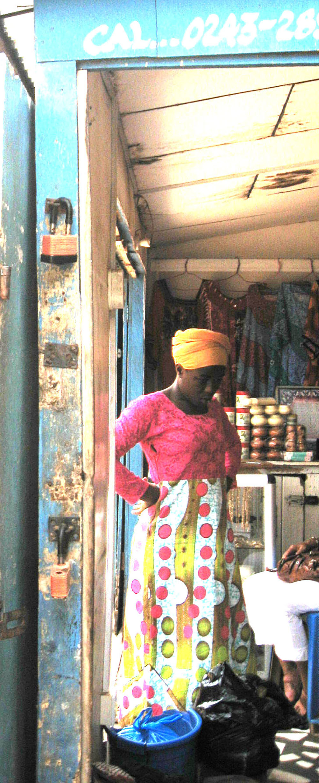 Accra auf dem Markt