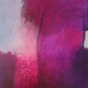 Violett in Variationen30x24 cm