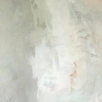 Mainly white I50x50 cm