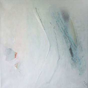 Mainly white III   40x40 cm