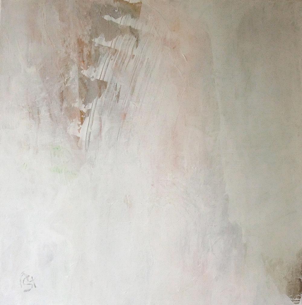 Mainly white IV   50x50 cm