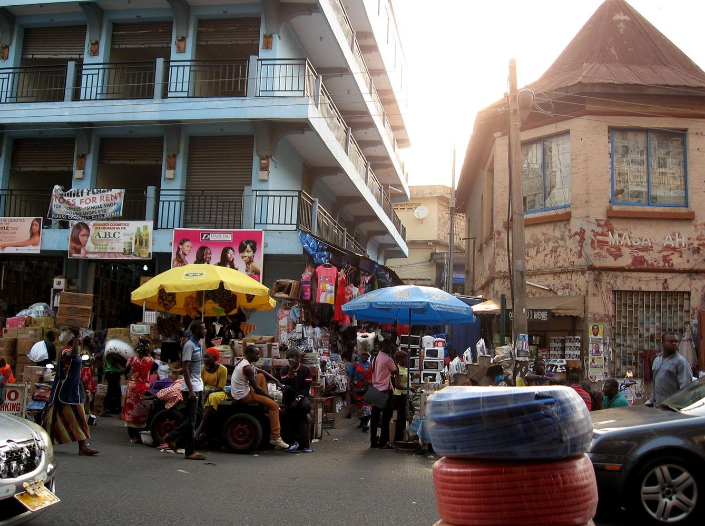 In Kumasi